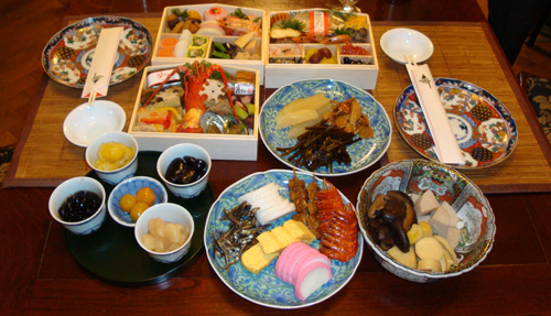 Osechi - Japanese New Year's feast